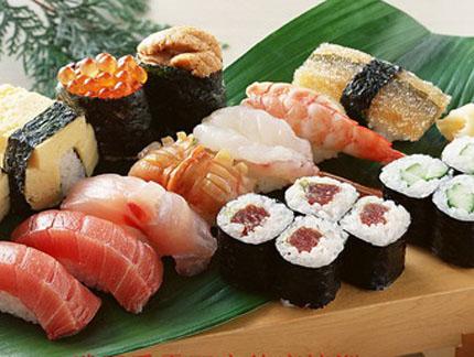 花样寿司的不同做法