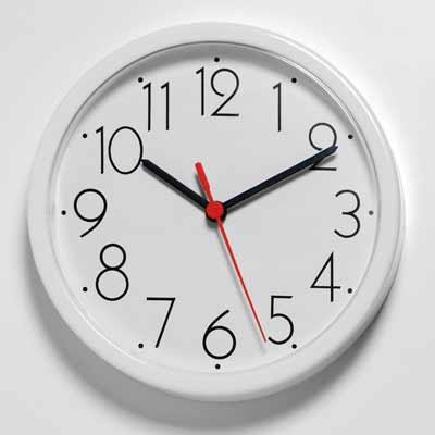钟表的形状多数为圆形