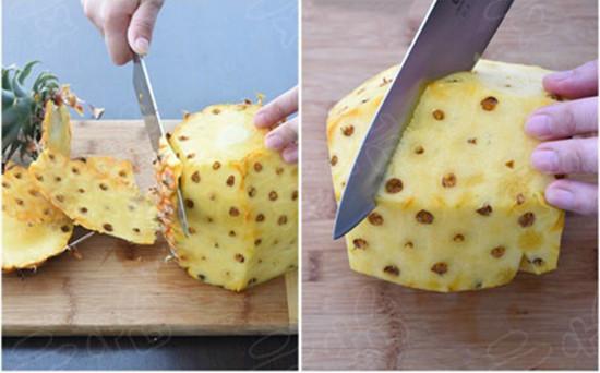 自己在家怎么削菠萝皮?教你几招让你轻松削掉菠萝皮