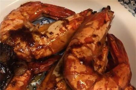 香煎九节虾
