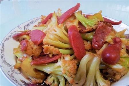 西红柿炒香肠
