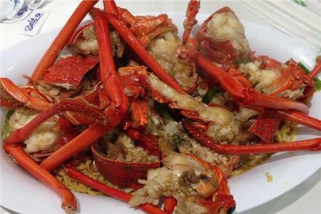 葱姜炒澳洲龙虾