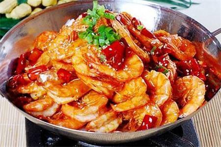 香辣虾的做法以及小窍门